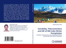 Couverture de Variability, Teleconnections and LRF of NW India Winter Precipitation