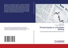 Bookcover of Private Equity in a Portfolio Setting