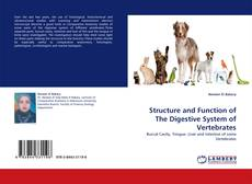 Bookcover of Structure and Function of The Digestive System of Vertebrates