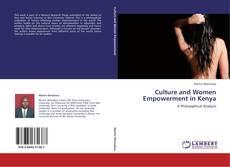 Portada del libro de Culture and Women Empowerment in Kenya