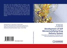 Capa do livro de Development of Self Microemulsifying Drug Delivery System