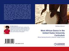 Capa do livro de West African Dance in the United States University Curriculum