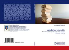 Bookcover of Academic Integrity