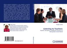 Copertina di Listening to Teachers: