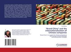 "Capa do livro de ""Brand China"" and the internationalization of Chinese companies"