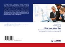 Buchcover von E-learning adoption