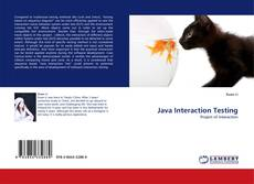 Bookcover of Java Interaction Testing