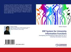 Bookcover of ERP System for University Information Functions