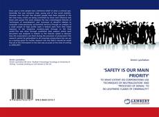 Bookcover of 'SAFETY IS OUR MAIN PRIORITY'