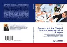 Capa do livro de Openness and Real Effects of Fiscal and Monetary Policies in Nigeria