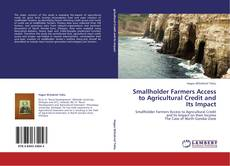 Smallholder Farmers Access to Agricultural Credit and Its Impact kitap kapağı