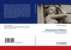 Couverture de Dimensions of Delicacy