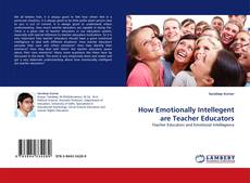 Portada del libro de How Emotionally Intellegent are Teacher Educators