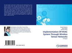Обложка Implementation Of HVAC System Through Wireless Sensor Networks