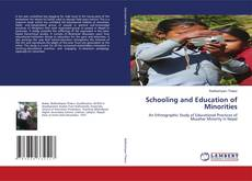 Buchcover von Schooling and Education of Minorities