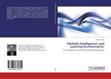 Couverture de Multiple Intelligences and Learning Environments: