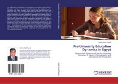 Обложка Pre-University Education Dynamics in Egypt