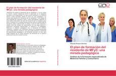 Copertina di El plan de formación del residente de MFyC: una mirada pedagógica
