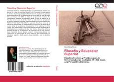 Filosofia y Educacion Superior kitap kapağı