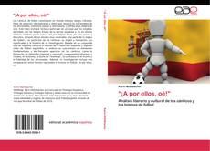 """Capa do livro de """"¡A por ellos, oé!"""""""