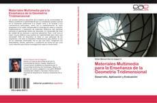 Capa do livro de Materiales Multimedia para la Enseñanza de la Geometría Tridimensional