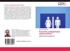 Portada del libro de Función y biogénesis mitocondrial