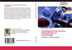 Capa do livro de Investigación de nuevos tratamientos en hepatología