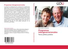 Capa do livro de Programas intergeneracionales