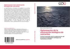 Buchcover von Optimización de la eliminación biológica de nutrientes