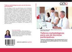 Portada del libro de Talleres metodológicos para uso de técnicas participativas