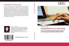 Usabilidad en el e-learning的封面