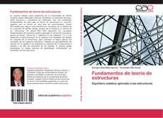 Portada del libro de Fundamentos de teoría de estructuras