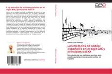 Portada del libro de Los métodos de solfeo españoles en el siglo XIX y principios del XX