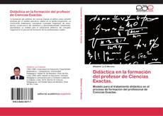 Portada del libro de Didáctica en la formación del profesor de Ciencias Exactas.