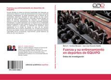 Portada del libro de Fuerza y su entrenamiento en deportes de EQUIPO