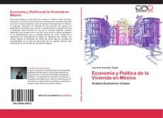 Portada del libro de Economía y Política de la Vivienda en México