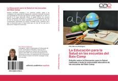 Portada del libro de La Educación para la Salud en las escuelas del Baix Camp