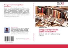 Portada del libro de El regeneracionismo político-educativo