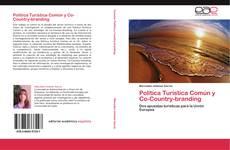 Portada del libro de Política Turística Común y Co-Country-branding