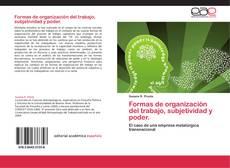 Portada del libro de Formas de organización del trabajo, subjetividad y poder.
