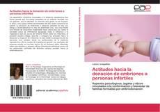 Capa do livro de Actitudes hacia la donación de embriones a personas infértiles
