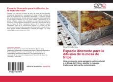 Portada del libro de Espacio itinerante para la difusión de la mesa de fritos