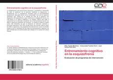 Capa do livro de Entrenamiento cognitivo en la esquizofrenia