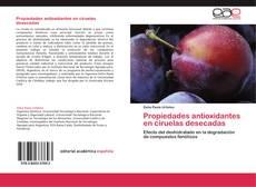 Portada del libro de Propiedades antioxidantes en ciruelas desecadas