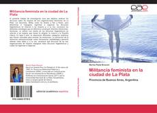 Portada del libro de Militancia feminista en la ciudad de La Plata
