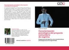 Couverture de Caracterización psicológica del proyecto comunitario  de esgrima