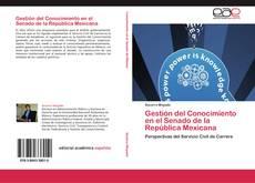 Portada del libro de Gestión del Conocimiento en el Senado de la República Mexicana