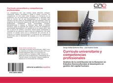 Portada del libro de Currículo universitario y competencias profesionales