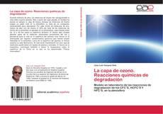 Couverture de La capa de ozono. Reacciones químicas de degradación