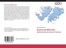 Portada del libro de Guerra de Malvinas